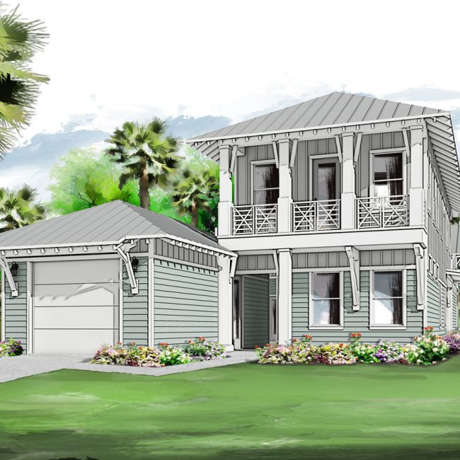 Ibis Canal Cottage Rendering